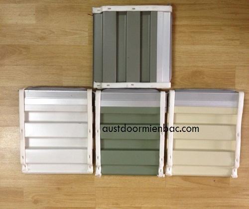 cửa cuốn tấm liền series 2 có 4 màu