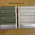 cửa cuốn tấm liền series 3 có 2 màu