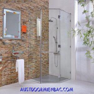 phòng tắm kính cường lực mẫu 2