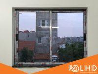 cửa sổ lùa 2 cánh nhôm xingfa