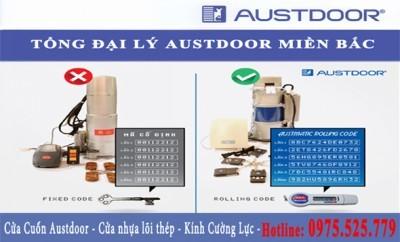 cửa cuốn Austdoor với công nghệ ARC chống phá mã cua cuon