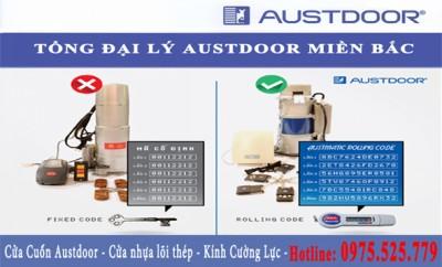 cửa cuốn Austdoor sử dụng công nghệ ARC chống phá mã cửa