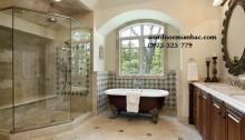 5 mẫu phòng tắm kính cường lực đẹp mắt 2015