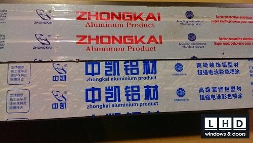 zhongkai aluminium