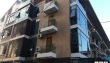 công trình cửa nhôm xingfa sử dụng kính xanh định công hà nội