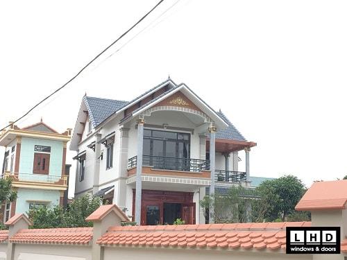 cửa nhôm xingfa tiền hải