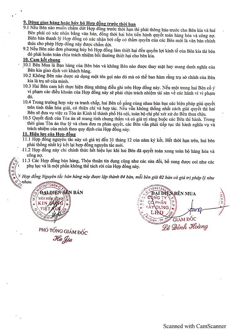 lhd group - đối tác công ty kinlong tại việt nam