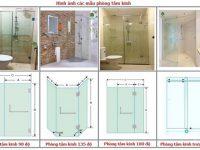 các mẫu cabin tắm kính cường lực