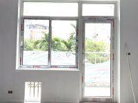 lắp đặt cửa nhôm xingfa mở quay 2 cánh màu trắng tại làng quốc tế thăng long 1